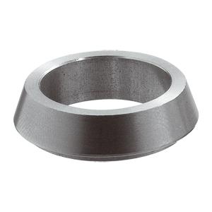Halsring groot tbv kruk ø23mm. Basis is 25mm, hoogte 5mm RVS