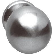 Voordeurknop-bol-ø75mm-M8-RVS