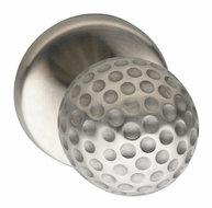 Voordeurknop-Ball-op-rozet-éénzijdige-montage-RVS
